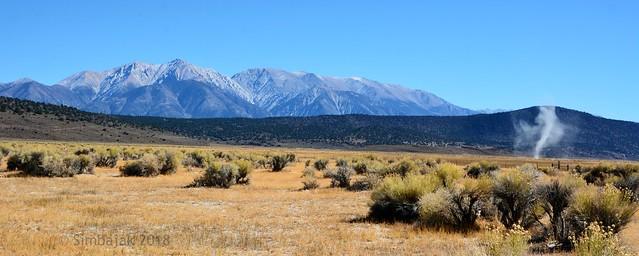 Dust Devil - White Mountains