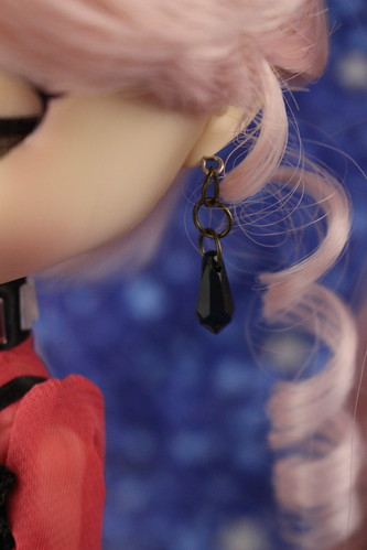 Black Lady Earring