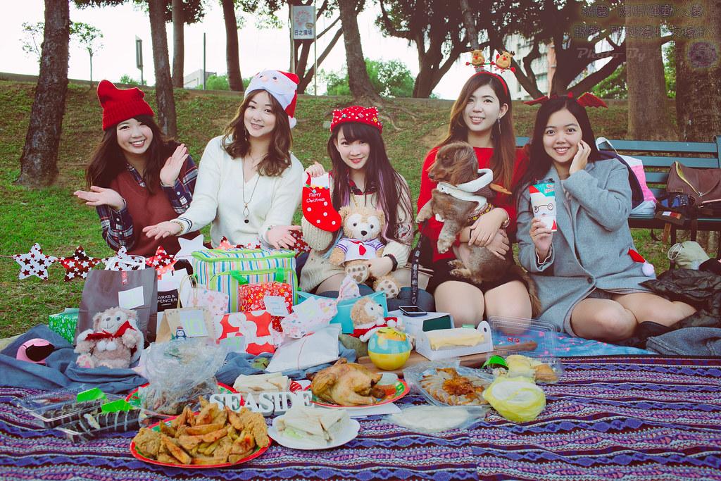 桃園陽明運動公園野餐~聖誕禮物交換趴