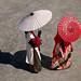 Japan: Matsumoto parasols by Henk Binnendijk