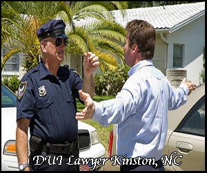 DUI legal assistance in Kinston