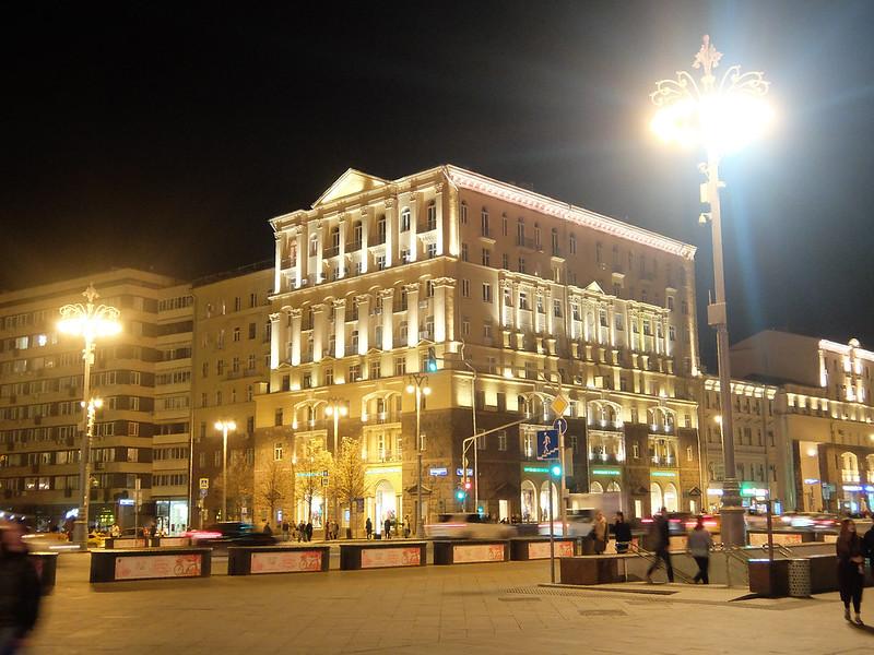 Москва - Тверская улица
