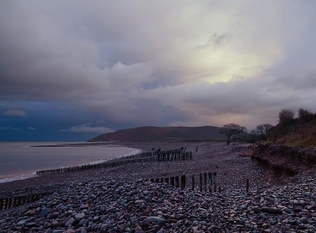 Porlock Bay from Red Sands, Exmoor