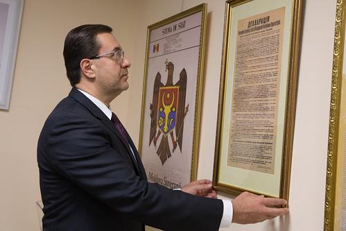 05.12.2018 Marian Lupu a făcut o donație muzeului Parlamentului