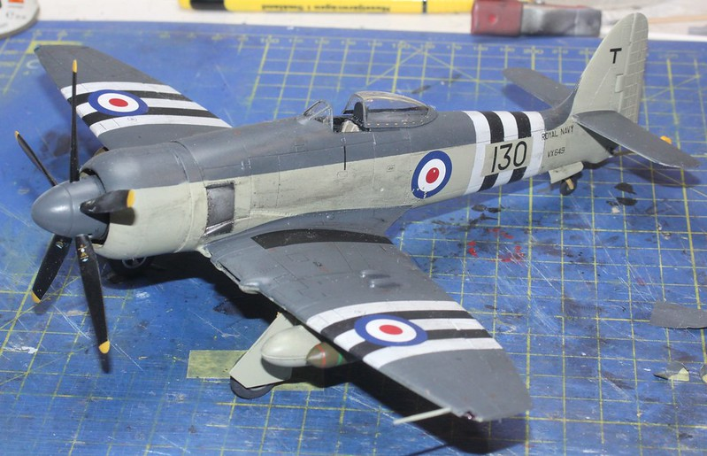 Hawker Sea Fury FB.11, Airfix 1/48 - Sida 5 45496905305_9cde137e8a_c