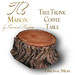 TB Maison Tree Trunk Coffee Table