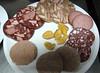 Kalte Platte mit 6 Wurstsorten