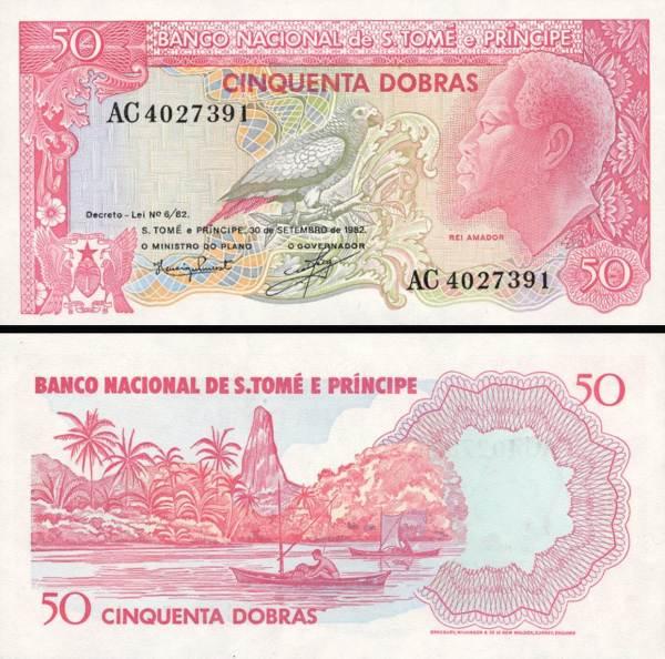 50 Dobras Svatý Tomáš a Princuv ostrov 1982, P56