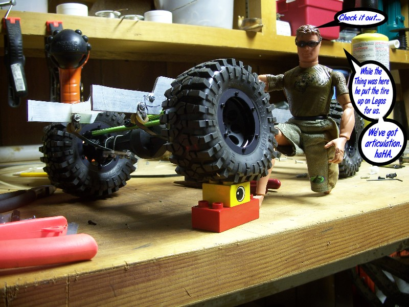 Building an RC sixth scale Jeep 45848677211_5fceea874b_o