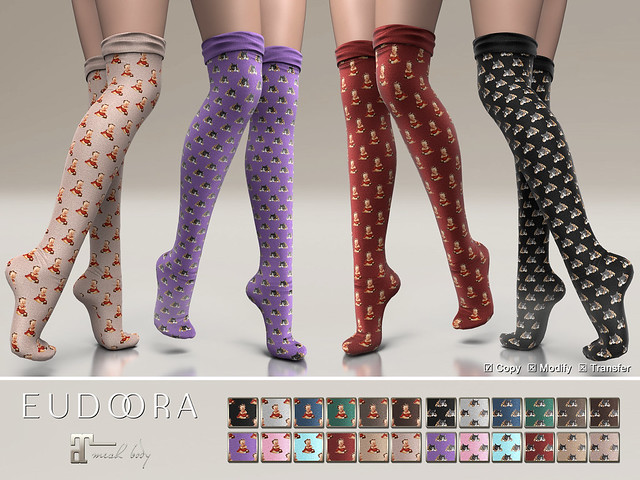 Eudora3D Winter Socks