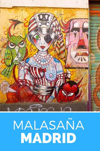 Leuke wijk in Madrid: ontdek Malasaña in Madrid | Mooistestedentrips.nl