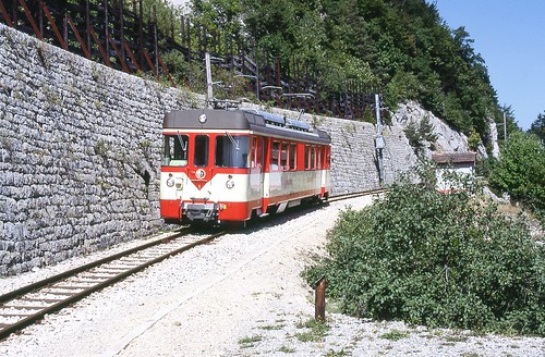 Trains de l'Yverdon St. Croix (Suisse)