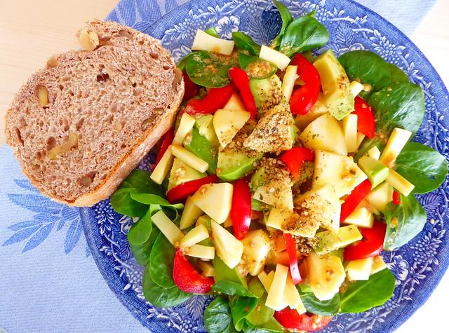 Crunchy healthy lunch, Panasonic DMC-TZ71