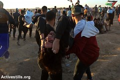 Great March of Return Protest, Gaza Strip, 2.11.2018