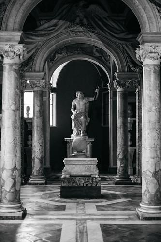 """Image titled """"Vatican Art. (B&W)"""""""