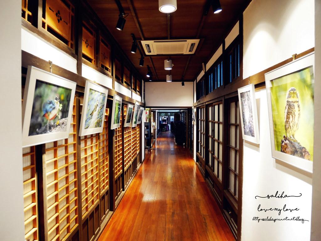 台北古亭站附近不限時日式咖啡廳下午茶推薦雅鴿書院 (2)