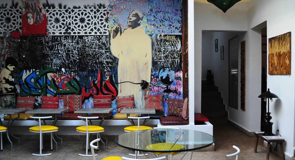 Leuk café in Marrakech: Café Clock (foto met dank aan Café Clock Marrakech) | Mooistestedentrips.nl
