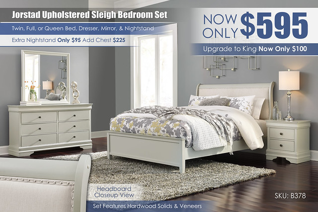 Jorstad Upholstered Sleigh Bedroom Set_B378-31-36-81-96-92-Q388