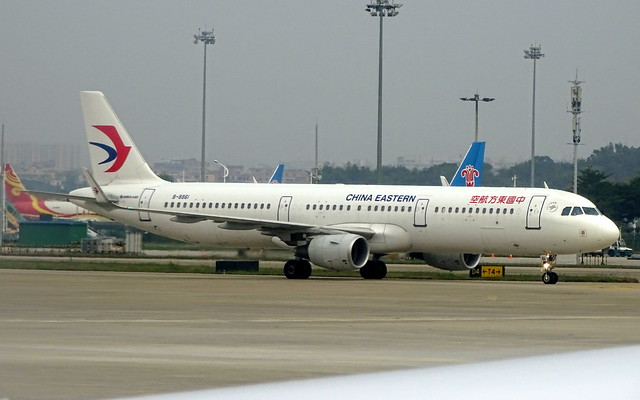 China Eastern Airlines Airbus A321 B-8861