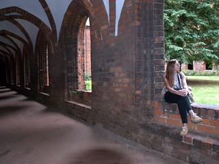 Monastery cloisters in Denmark