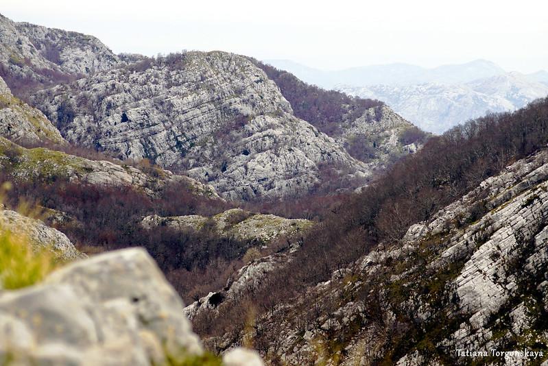 Пейзаж с вершины Каменски Кабао