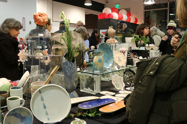 Ceramics Program Holiday Show and Sale 2018