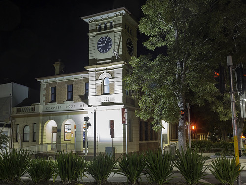 Post Office and Civic Clock, Kempsey NSW - built 1903 - see below