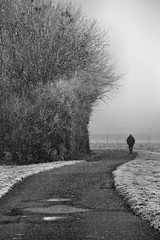 One who walks alone can sometimes reach places that no one has ever reached.