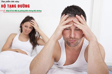 Khoảng 2/3 nam giới và 1/3 nữ giới mắc tiểu đường có vấn đề về sinh lý