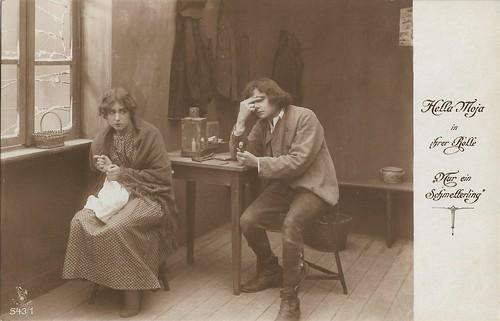 Hella Moja in Nur ein Schmetterling (1918)