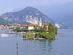 Italie, Lac Majeur, île Bella, Pescatori, Madré
