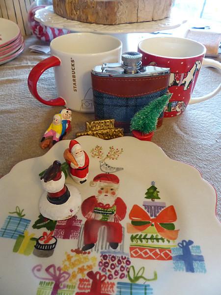 l'assiette du Père Noël