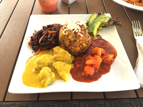 33 - Mixed Plate with Mofongo - Ocean World Terrace - Cofresi - Puerto Plata