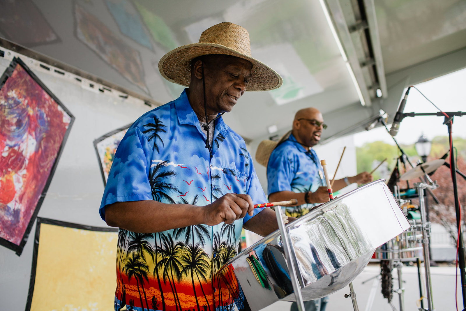 FHFS 2018 Caribbean Vibe Steel Drum Band