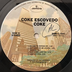 COKE ESCOVEDO:COKE(LABEL SIDE-A)