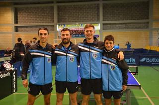 La squadra di Serie B2 Buccolieri, Abbaticchio, Buss, Giordano