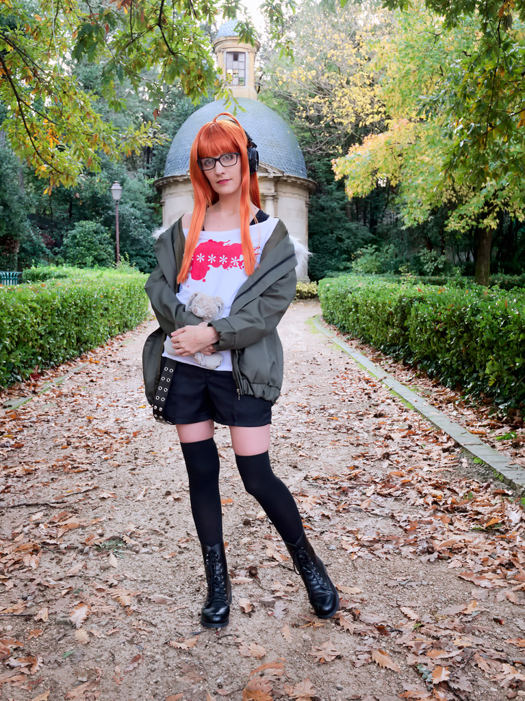 related image - Shooting Persona 5 - Futaba Sakura - Jardin de la Magalone -2018-11-10- P1388546