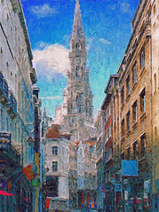 """In-spired"" - Street Scene Brussels"