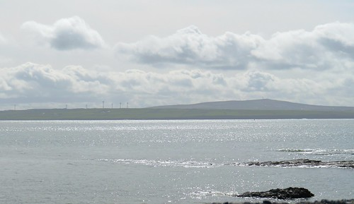 Looking across the estuary at County Kerry