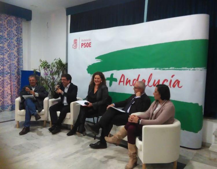 PSOE escucha al sector sanitario en La Línea para seguir mejorando la sanidad pública