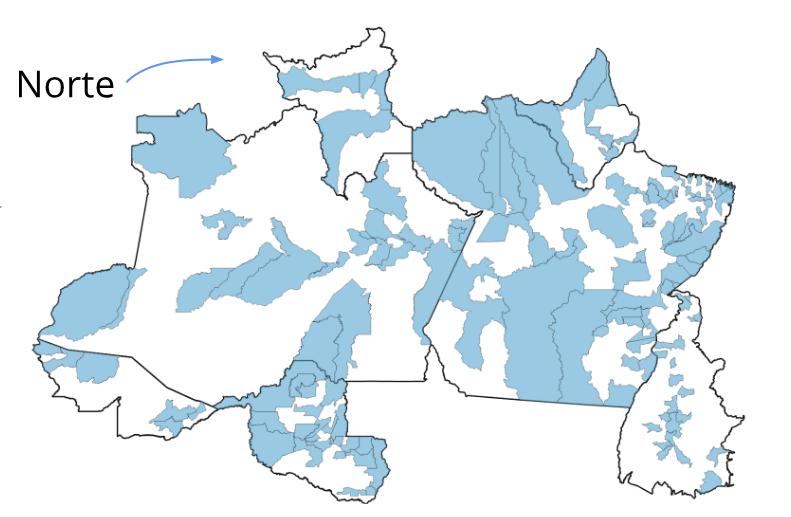 Portais e blogs são as fontes principais de informação no Norte, aponta pesquisa, mapa midia NORTE