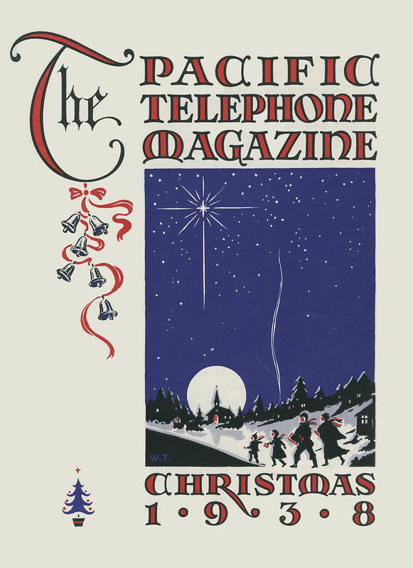 The Pacific Telephone Magazine,  Christmas 1938