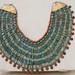 An ancient Egyptian necklace at the Egyptian Museum of Cairo عقد اثرى فى المتحف المصرى بالقاهرة