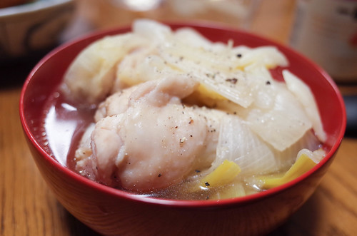 手羽元と白菜参鶏湯風 (2 - 2)