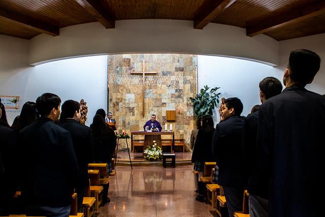 Eucaristía de Acción de Gracias 8° Básico