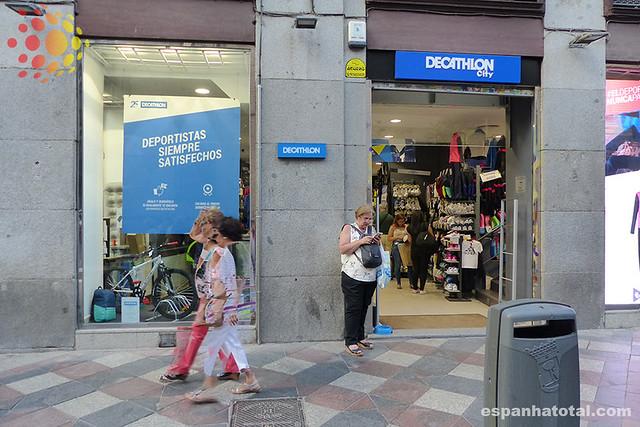 onde comprar roupa esportiva e de esqui em Madri