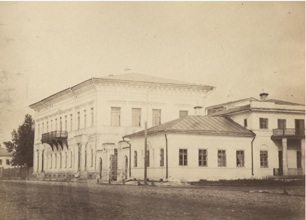 Здание технического училища. 1900-е гг