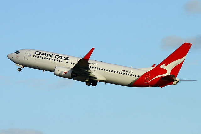 QANTAS Boeing 737-800, VH-VXP, Canon EOS 7D, Sigma 50-500mm f/4-6.3 APO HSM EX