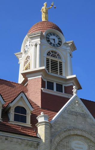 Oconto County Courthouse Tower (Oconto, Wisconsin)
