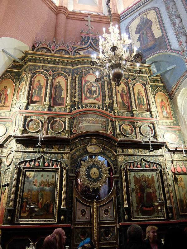 Москва - Храм Василия Блаженного - Алтарь